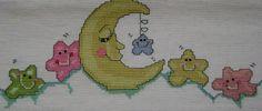Ponto cruz bebê: parte 2 de lençol de berço-5