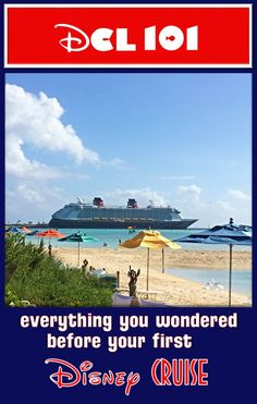 Disney Cruise Line 101 - INCREDIBLE compilation list