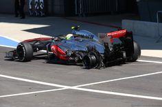Sergio Perez - McLaren - 2013 British GP