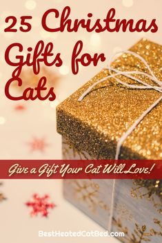 We have come up with a list of perfect presents that are certain to please! We are sure that you can find exactly what you are looking for on our list of Christmas gifts for kitties. Merry Christmas! Heated Cat House, Heated Outdoor Cat House, Heated Cat Bed, Christmas Ties, Great Christmas Gifts, Merry Christmas, Cat Presents, Heating Pads, Cat Beds
