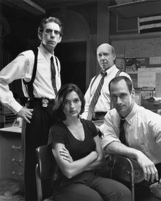 The Original Cast of Law & Order: SVU (Only Mariska Hargitay is the only one left)
