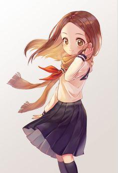 Anime School Girl, Anime Girl Neko, Manga Girl, Anime Manga, Anime Art, Otaku, Love Illustration, Best Waifu, Cute Chibi