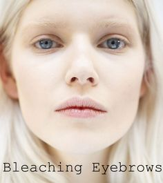 Bleaching Eyebrows: The New Beauty Trend of Fall - Fashion Trends, Makeup Tutorials, Hairstyles and Style Secrets Winter Beauty Tips, Beauty Tips For Skin, Best Beauty Tips, Beauty Hacks, Beauty Ideas, Natural Beauty, Mask For Oily Skin, Dry Skin On Face, Bleached Eyebrows