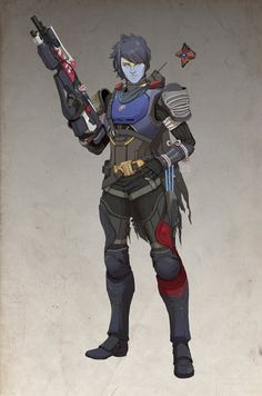 Destiny commissioned work from long time ago and some random fedex boi Character Modeling, Character Art, Character Design, Tattoo Character, Character Portraits, Armadura Sci Fi, Destiny Bungie, Destiny Warlock, Destiny Video Game