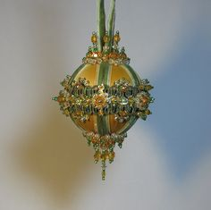 Beaded Christmas Ornament Kit Cathedral by Glimmertree on Etsy