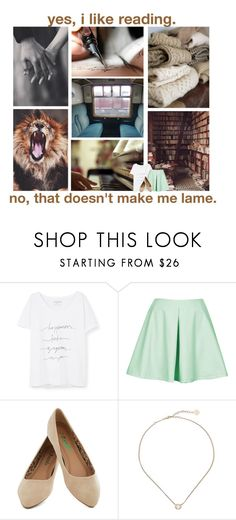 """Books are a gateway into another world // Hermione Granger"" by thalia-the-frog ❤ liked on Polyvore featuring Public Library, Music Notes, Violeta by Mango, Oh My Love and Kendra Scott"