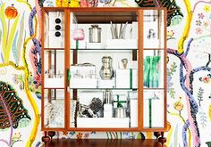 Busy but cool. (Swedish style - interior design by Svenskt Tenn) Swedish Style, Swedish Design, Interior Design Companies, Interior Design Tips, Inspiration Wall, Interior Inspiration, Stockholm, Josef Frank, The Giver