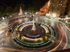 One of my favorite places anywhere. Columbus Circle in New York.