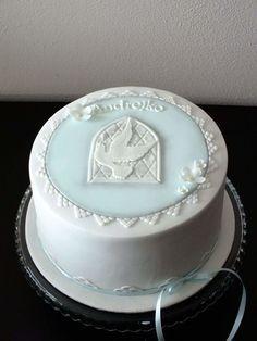 Communion cake for boy