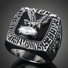 Just listed this in my store 1980 Philadelphia... Check it out here! http://championshipringsandmore.com/products/1980-philadelphia-eagles-nfc-championship-replica-ring-american-football-fans-collection?utm_campaign=social_autopilot&utm_source=pin&utm_medium=pin