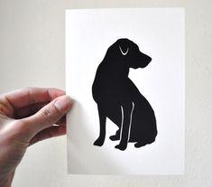black labrador notecards