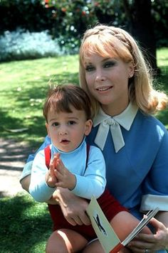 Barbara Eden and son Matthew