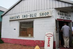 Sno-Bliz from Hansen's Sno-Bliz Shop #TakeMeToNOLA
