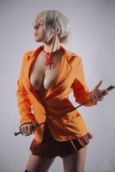 Adamae as Meiko Shiraki (Prison School) - More at https://pinterest.com/supergirlsart #cosplay #girl #hot #sexy