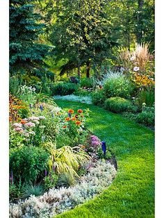 garden idea that blooms nearly all year long, what to plant for each season