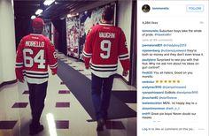 Tom Morello, Vince Vaughn hang at Blackhawks game – one has fun - http://chicago.suntimes.com/blackhawks-hockey/7/71/681404/tom-morello-vince-vaughn-hang-blackhawks-game-one-fun