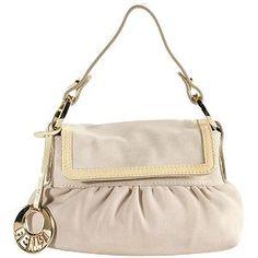 Fendi Suede 'Chef' Small Shoulder Handbag-cute yet elegant :)