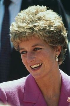 May 06, 1993: Princess Diana on a walkabout in Birmingham..