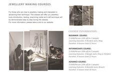 Beginner to Advance Jewellery Workshop – by Obellery at H311 PMQ 元創方 #PMQHK #PMQ #HongKong #Obellery #Jewellery #Workshop #Art #Design More info  at www.pmq.org.hk