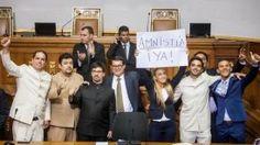 La discusión de la ley de AMNISTIA se extendió por casi ocho horas en la Asamblea Nacional.
