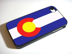 Colorado State Flag Logo iPhone 5S 5 4S 4 Samsung Galaxy Note 3 S4 S3 Mini Case