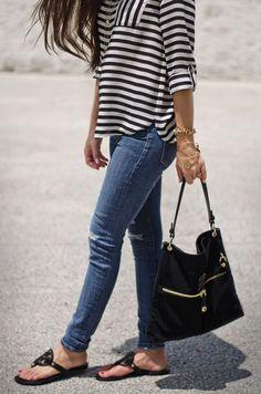 Stripes en Noir | The Classified Chic