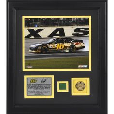 Memories Greg Biffle 2012 Samsung Mobile 500 Framed 8x10 Photo w/ Gold Coin & Race-Used Flag- L.E. of 116 - Mounted Memories Certified by Sports Memorabilia. $99.99. This unique collectible commemorates Greg Biffle as the 2012 Samsung 500 winner at Texas Motor Speedway. The collectible contains an 8x10 photo of Greg Biffle, a descriptive plate, 10KT Gold Plated 1 1/2 inch coin, and a piece of green flag used to start the race. It is officially licensed by NASCAR...