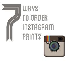 Instagram photos are stored at a maximum of 612x612 dpi. That doesn't mean you can't print them!  How to order...