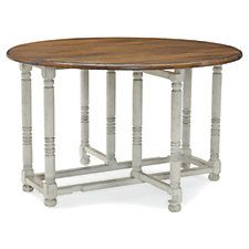 """Ouverte 48"""" Dining Table, Worn Gray"""
