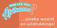 Hoe lyk jou afrikaans Uniek Afrikaans, Words, Horse