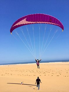 Paragliding Alexandra_ Namib Desert