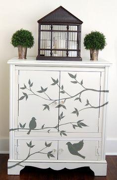 Bird & Branch Record Cabinet Tutorial