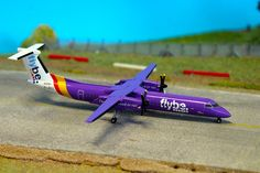 Herpa Flybe Dash 8 model in diecast now on http://Airpsotters.com website