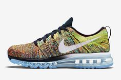 """The Nike Flyknit Air Max """"Multi-Color"""" Is Releasing Soon - SneakerNews.com"""