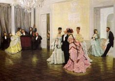British Paintings: James Jacques Joseph Tissot - Too Early