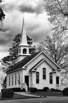 Inspiration for Stillwater Springs Methodist Church.