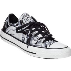 CONVERSE WOMEN'S Floral Converse Chuck Taylor All-Star Sneaker (51 AUD) ❤ liked on Polyvore featuring shoes, sneakers, blkwh, converse trainers, floral shoes, converse sneakers, lace up shoes and floral print shoes