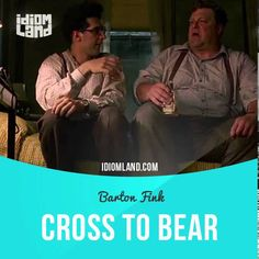 """Cross to bear"" is a problem or issue that you have to deal with alone.  Text in the clip from ""Barton Fink"": - People can be goddamn cruel, especially some of these housewives. Okay. So I have a weight problem. That's my cross to bear. I don't know. - It's a defense mechanism. - Defense against what, insurance?"