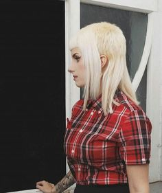 WEBSTA @ skinheads_skingirls_mods - The lovely @aurora_lunar give this lady a follow #skinheadgirl