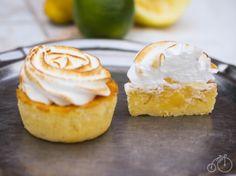 Cupcake citron et meringue, coeur coulant au lemon curd