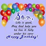 ... Birthday Wishes For Son | Good