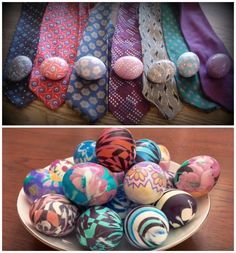 Video instruction - How To Dye Easter Eggs With Silk