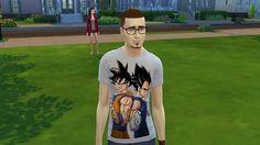 Mod The Sims - Dragon Ball Z T-Shirt