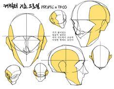 Drawing Skills, Drawing Lessons, Drawing Techniques, Drawing Tips, Drawing Tutorials, Painting Tutorials, Drawing Heads, Body Drawing, Drawing Base