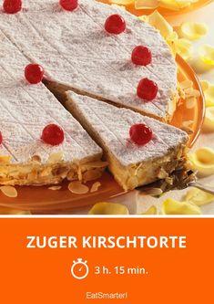 Zuger Kirschtorte - smarter - Zeit: 3 Std. 15 Min. | eatsmarter.de