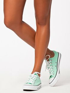Mint green CONVERSE ALL STAR SEASONAL OX.... someone please get these for me!!!!!!!!!!