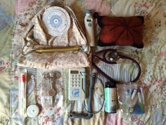 Contents of the midwife bag