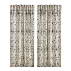Living Room Curtians IKEA - RYSSBY Curtains, 1 pair, The curtains can be used on a curtain rod or a curtain track. Apartment Curtains, Ikea Curtains, Curtains With Blinds, Window Curtains, Curtains Living, Bedroom Curtains, Black White Curtains, Circus Decorations, Black Linen
