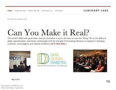 Data Design Diabetes - free slide submission, upload slide - weSRCH