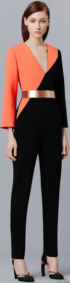 What Samara would wear. Mass Effect / Roksanda Pre-Fall 2015